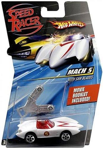 ホットウィール マテル ミニカー ホットウイール 【送料無料】Hot Wheels Speed Racer Ice Cave Mach 5 Diecast Carホットウィール マテル ミニカー ホットウイール