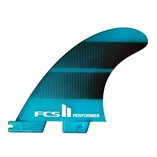 サーフィン フィン マリンスポーツ 【送料無料】FCS 2 Performer Neo Glass Tri-Fin Set Teal Gradient Mサーフィン フィン マリンスポーツ