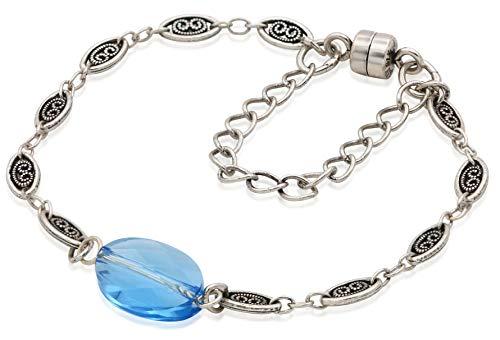 アレックスアンドアニ アメリカ アクセサリー ブランド かわいい 【送料無料】Alex and Ani Women's Crystal Pond Magnetic Bracelet, Rafaelian Silver, Expandableアレックスアンドアニ アメリカ アクセサリー ブランド かわいい