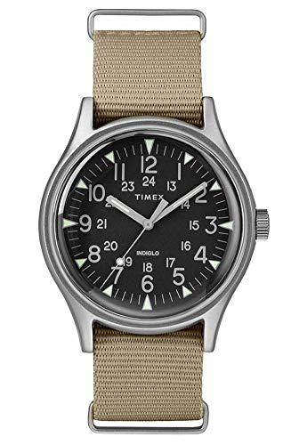 タイメックス 腕時計 メンズ 【送料無料】TIMEX Green Fabric Watch-TW2T10300タイメックス 腕時計 メンズ