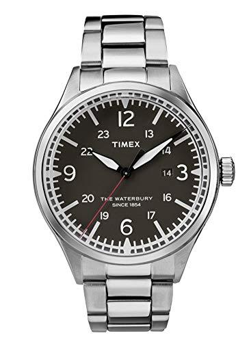 タイメックス 腕時計 メンズ 【送料無料】Timex Waterbury Quartz Movement Black Dial Men's Watch TW2R38700タイメックス 腕時計 メンズ