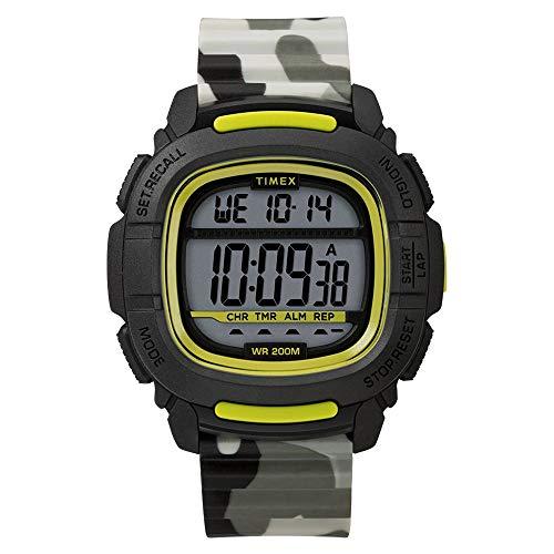 タイメックス 腕時計 メンズ 【送料無料】Timex Men's Command 47mm Quartz Sport Watch with Silicone Strap, Camouflage, 22 (Model: TW5M26600JV)タイメックス 腕時計 メンズ
