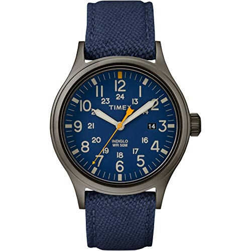 タイメックス 腕時計 メンズ 【送料無料】Timex Allied Blue Dial Leather Strap Men's Watch TW2R46200タイメックス 腕時計 メンズ