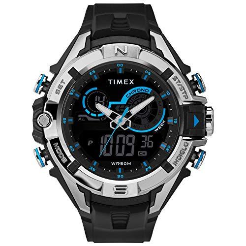 腕時計 タイメックス メンズ 【送料無料】Timex Mens Digital Watch with Resin Strap TW5M23000腕時計 タイメックス メンズ