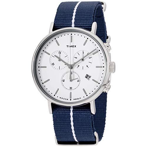 タイメックス 腕時計 メンズ 【送料無料】Timex Weekender Fairfield Quartz Movement White Dial Men's Watch TW2R27000タイメックス 腕時計 メンズ