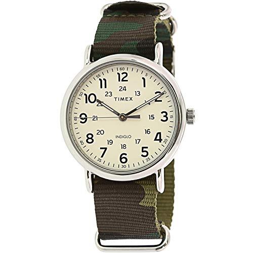 タイメックス 腕時計 メンズ 【送料無料】Timex Men's Weekender TW2T30800 Silver Nylon Quartz Fashion Watchタイメックス 腕時計 メンズ