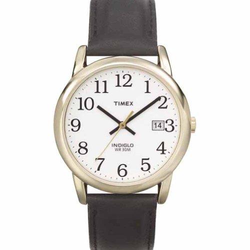 腕時計 タイメックス メンズ 【送料無料】Timex T2h291 Mens Analog Casual Watch Brown Leather Strap 50m Wr Mineral Crystal腕時計 タイメックス メンズ