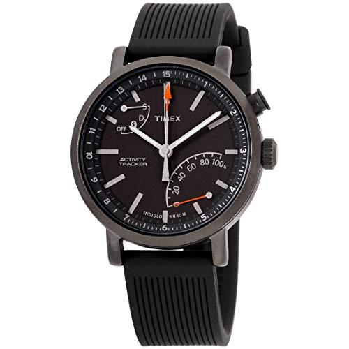 腕時計 タイメックス メンズ 【送料無料】Timex Metropolitan+ Activity Tracker Quartz Movement Black Dial Unisex Watch TW2P82300腕時計 タイメックス メンズ