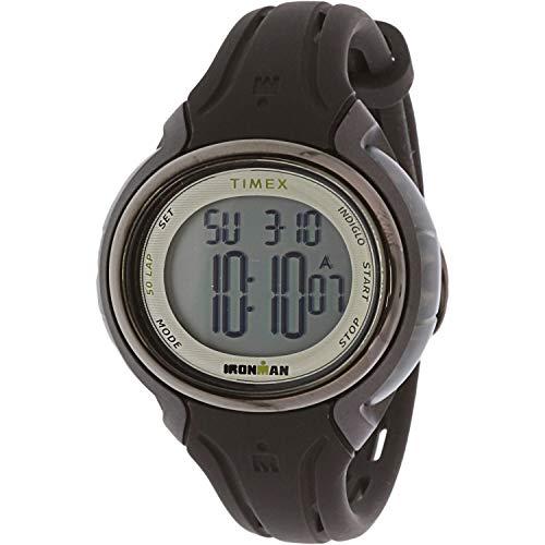 タイメックス 腕時計 メンズ 【送料無料】Timex Ironman TW5M13700 Black Silicone Japanese Quartz Sport Watchタイメックス 腕時計 メンズ