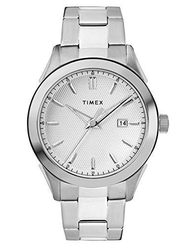 腕時計 タイメックス メンズ 【送料無料】TIMEX Silver Stainless Steel Watch-TW2R90500腕時計 タイメックス メンズ