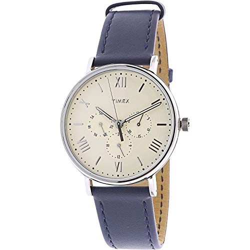 腕時計 タイメックス メンズ 【送料無料】Timex Men's Southview TW2R29200 Silver Leather Japanese Quartz Dress Watch腕時計 タイメックス メンズ