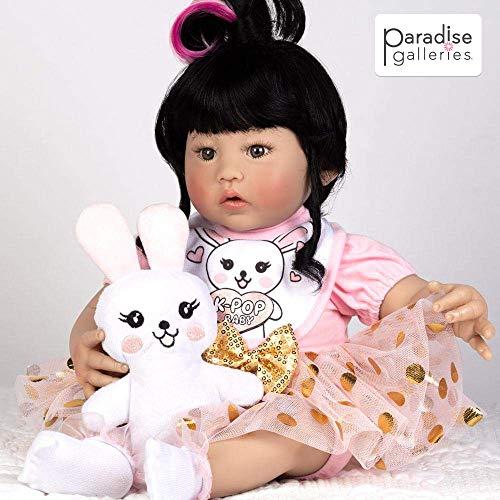 無料ラッピングでプレゼントや贈り物にも 逆輸入並行輸入送料込 パラダイスギャラリーズ 赤ちゃん リアル 本物そっくり おままごと 送料無料 Paradise Galleries Reborn K-Pop Girl 期間限定送料無料 inch 5-Piece -18 Asian Gift GentleTouch Vinyl Setパラダイスギャラリーズ Korean 着後レビューで 送料無料 Doll