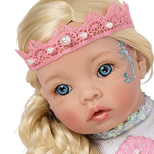 パラダイスギャラリーズ 赤ちゃん リアル 本物そっくり おままごと 【送料無料】Paradise Galleries Reborn Mermaid Doll - Pearl Little Mermaid, 21 inches Head to Tail, Posable Tailパラダイスギャラリーズ 赤ちゃん リアル 本物そっくり おままごと