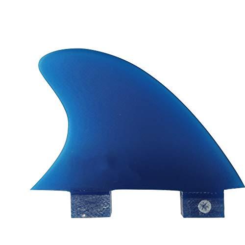 サーフィン フィン マリンスポーツ 【送料無料】UPSURF Surfboard FCS Single Fin Center Keel Fin - Blueサーフィン フィン マリンスポーツ