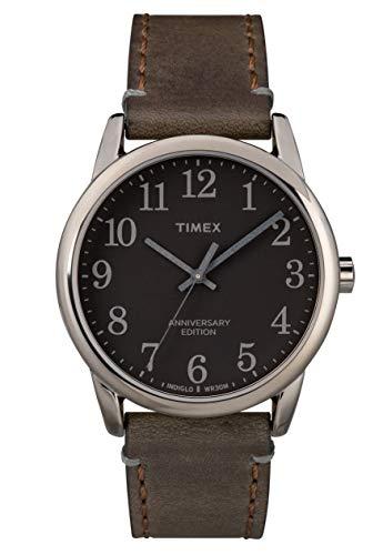 タイメックス 腕時計 メンズ 【送料無料】TIMEX - Easy Reader Men Leather Brown Watch - TW2R35800タイメックス 腕時計 メンズ