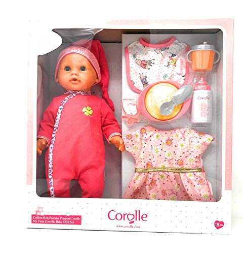"""コロール 赤ちゃん 人形 ベビー人形 【送料無料】Corolle My First Baby Doll Set   Mon Premier Poupon Corolle""""コロール 赤ちゃん 人形 ベビー人形"""