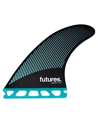サーフィン フィン マリンスポーツ 【送料無料】Futures R4 Legacy Thruster Fin Set Teal/Blackサーフィン フィン マリンスポーツ