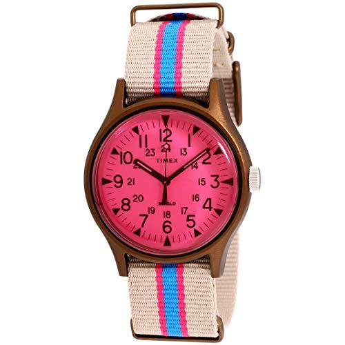タイメックス 腕時計 メンズ 【送料無料】Timex MK1 Quartz Movement Pink Dial Men's Watch TW2T25600タイメックス 腕時計 メンズ