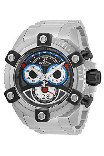 インヴィクタ インビクタ 腕時計 メンズ 【送料無料】Invicta Men 63mm Reserve Grand Arsenal Swiss 8040N Chronograph Stainless Steel Bracelet Watchインヴィクタ インビクタ 腕時計 メンズ