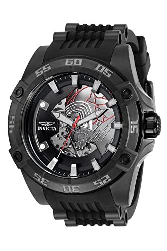 インヴィクタ インビクタ 腕時計 メンズ 【送料無料】Invicta Star Wars Kylo Ren Automatic Black Dial Men's Watch 31691インヴィクタ インビクタ 腕時計 メンズ