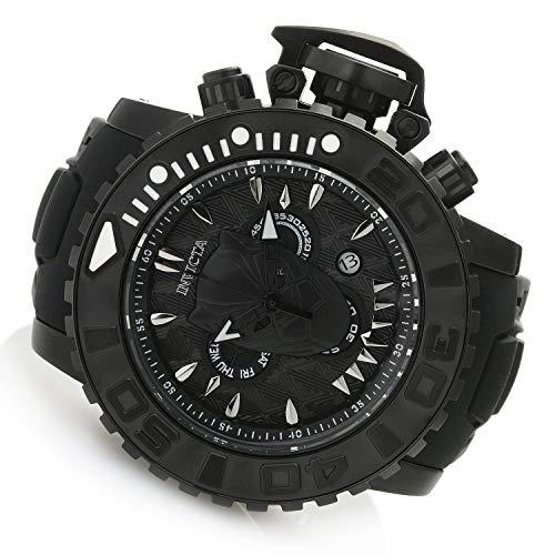 インヴィクタ インビクタ 腕時計 メンズ 【送料無料】Invicta Marvel Black Panther Men's 58mm Sea Hunter Swiss Quartz Chronograph Silicone Strap Watchインヴィクタ インビクタ 腕時計 メンズ