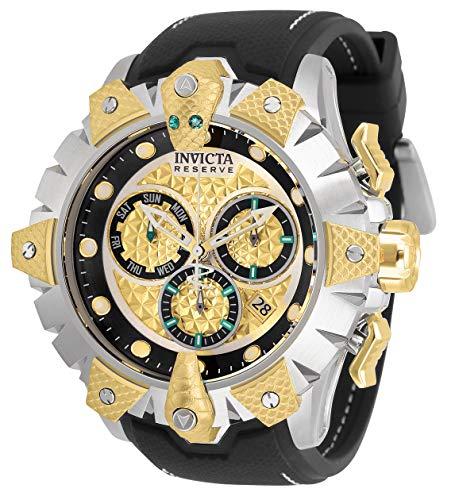 インヴィクタ インビクタ 腕時計 メンズ 【送料無料】Invicta Men's Reserve Venom Stainless Steel Quartz Watch with Silicone Strap, Black, 26 (Model: 32132)インヴィクタ インビクタ 腕時計 メンズ