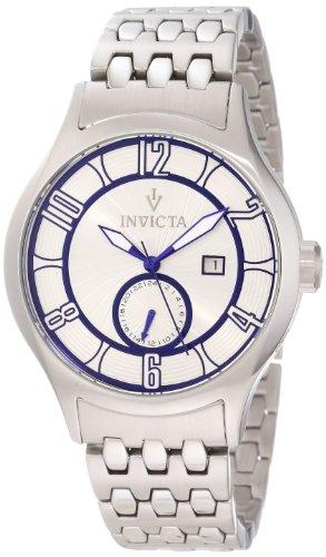 インヴィクタ インビクタ 腕時計 メンズ 【送料無料】Invicta Men's 12232 Vintage Silver Patterned Dial Stainless Steel Watchインヴィクタ インビクタ 腕時計 メンズ