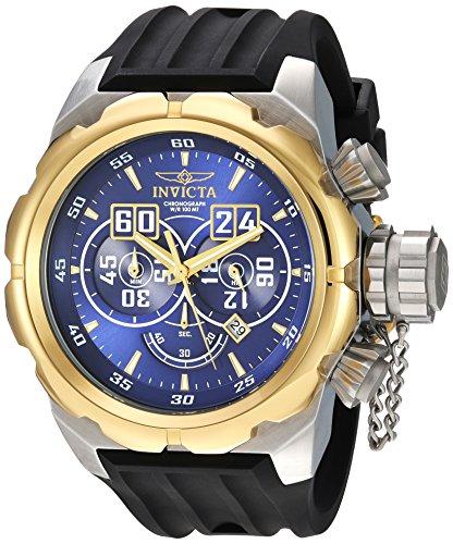インヴィクタ インビクタ 腕時計 メンズ 【送料無料】Invicta Men's Russian Diver Stainless Steel Quartz Watch with Silicone Strap, Black, 34 (Model: 21630)インヴィクタ インビクタ 腕時計 メンズ