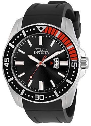 腕時計 インヴィクタ インビクタ メンズ 【送料無料】Invicta Pro Diver Men 48mm Stainless Steel Stainless Steel Black dial Quartz, 30742腕時計 インヴィクタ インビクタ メンズ
