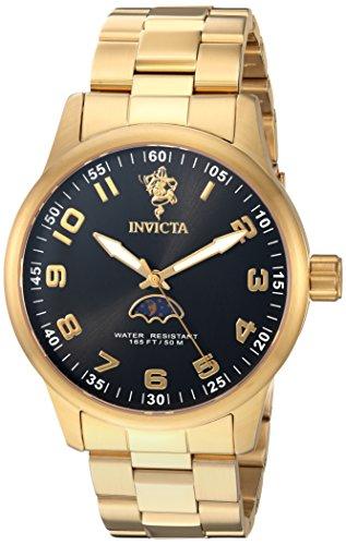 インヴィクタ インビクタ 腕時計 メンズ 【送料無料】Invicta Men's Sea Base Quartz Watch with Stainless-Steel Strap, Gold, 22 (Model: 23825)インヴィクタ インビクタ 腕時計 メンズ