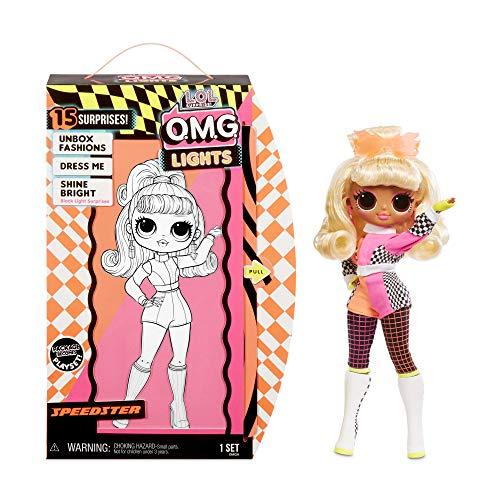 エルオーエルサプライズ 人形 ドール 【送料無料】L.O.L. Surprise! O.M.G. Lights Speedster Fashion Doll with 15 Surprises, Multicolorエルオーエルサプライズ 人形 ドール