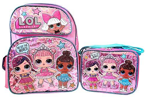 エルオーエルサプライズ 人形 ドール 【送料無料】L.O.L. Surprise! 16 inch Backpack and Lunch Box Set - Glitter Seriesエルオーエルサプライズ 人形 ドール