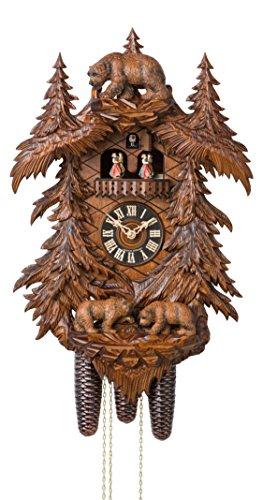 カッコー時計 インテリア 壁掛け時計 海外モデル アメリカ 【送料無料】Cuckoo Clock Bears in the Forestカッコー時計 インテリア 壁掛け時計 海外モデル アメリカ
