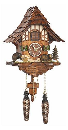 カッコー時計 インテリア 壁掛け時計 海外モデル アメリカ 【送料無料】Trenkle Quartz Cuckoo Clock Black Forest House with Music TU 4201 QMカッコー時計 インテリア 壁掛け時計 海外モデル アメリカ