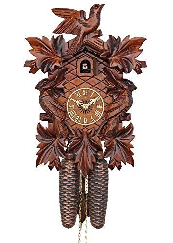 カッコー時計 インテリア 壁掛け時計 海外モデル アメリカ 【送料無料】Adolf Herr Cuckoo Clock - The Cuckoo Birds AH 322/1 8Tカッコー時計 インテリア 壁掛け時計 海外モデル アメリカ
