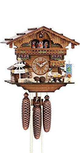 カッコー時計 インテリア 壁掛け時計 海外モデル アメリカ 【送料無料】German Cuckoo Clock 8-day-movement Chalet-Style 13.00 inch - Authentic black forest cuckoo clock by Hekasカッコー時計 インテリア 壁掛け時計 海外モデル アメリカ