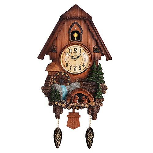カッコー時計 インテリア 壁掛け時計 海外モデル アメリカ 【送料無料】Diyida Vivid Large Cuckoo Clock、Wall Cuckoo Clock,Chime has Automatic Shut-Off [Kitchen & Home]カッコー時計 インテリア 壁掛け時計 海外モデル アメリカ