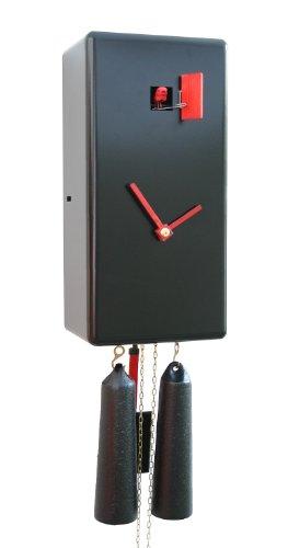 カッコー時計 インテリア 壁掛け時計 海外モデル アメリカ 【送料無料】German Cuckoo Clock 8-day-movement Modern-Art-Style 11.80 inch - Authentic black forest cuckoo clock by Rombach & Haasカッコー時計 インテリア 壁掛け時計 海外モデル アメリカ