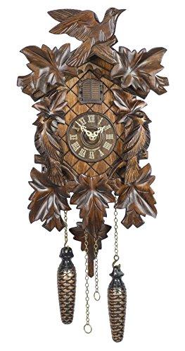 カッコー時計 インテリア 壁掛け時計 海外モデル アメリカ 【送料無料】Trenkle Quartz Cuckoo Clock 5-Leaves, Bird TU 351 Qカッコー時計 インテリア 壁掛け時計 海外モデル アメリカ
