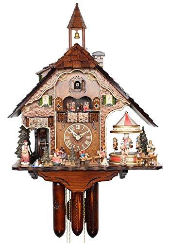 カッコー時計 インテリア 壁掛け時計 海外モデル アメリカ 【送料無料】HerrZeit by Adolf Herr HerrZeit Cuckoo Clock - The Fun Fairカッコー時計 インテリア 壁掛け時計 海外モデル アメリカ