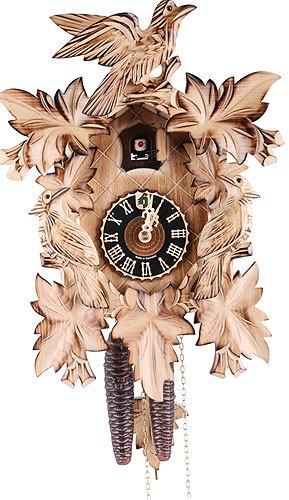 カッコー時計 インテリア 壁掛け時計 海外モデル アメリカ 【送料無料】German Cuckoo Clock 1-day-movement Carved-Style 14.00 inch - Authentic black forest cuckoo clock by H?nesカッコー時計 インテリア 壁掛け時計 海外モデル アメリカ