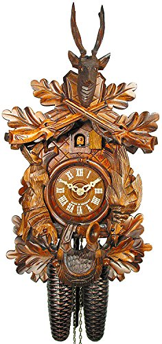 カッコー時計 インテリア 壁掛け時計 海外モデル アメリカ 【送料無料】German Cuckoo Clock 8-day-movement Carved-Style 16.00 inch - Authentic black forest cuckoo clock by August Schwerカッコー時計 インテリア 壁掛け時計 海外モデル アメリカ