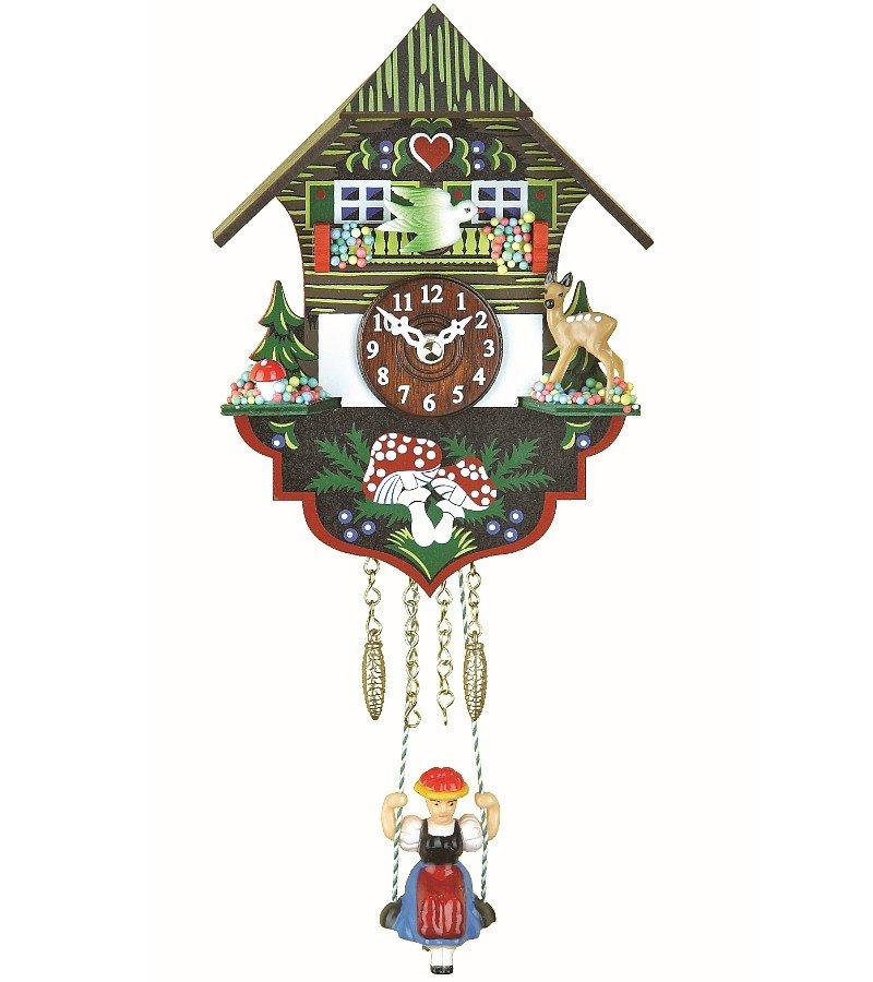 カッコー時計 インテリア 壁掛け時計 海外モデル アメリカ 【送料無料】Trenkle Kuckulino Black Forest Clock Black Forest House with Quartz Movement and Cuckoo Chime TU 2004 SQカッコー時計 インテリア 壁掛け時計 海外モデル アメリカ