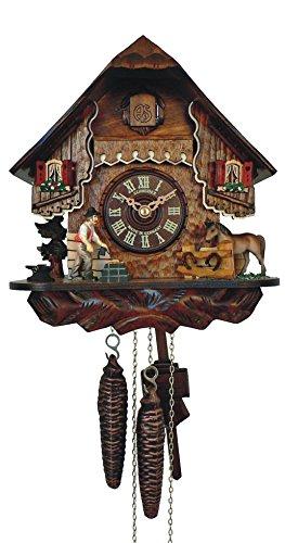 カッコー時計 インテリア 壁掛け時計 海外モデル アメリカ 【送料無料】Anton Schneider Cuckoo Clock Little Black Forest Houseカッコー時計 インテリア 壁掛け時計 海外モデル アメリカ