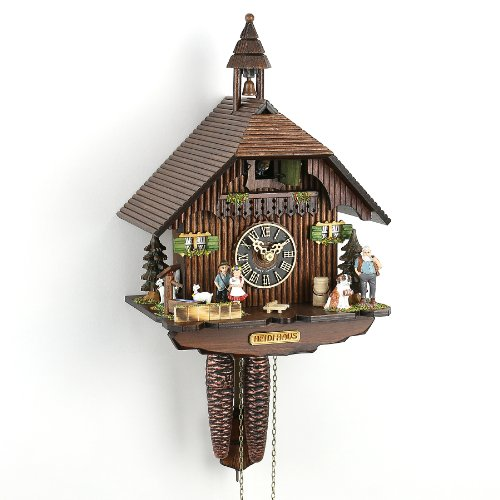 カッコー時計 インテリア 壁掛け時計 海外モデル アメリカ 【送料無料】H?nes Cuckoo Clock Little Black Forest House HO 1288カッコー時計 インテリア 壁掛け時計 海外モデル アメリカ