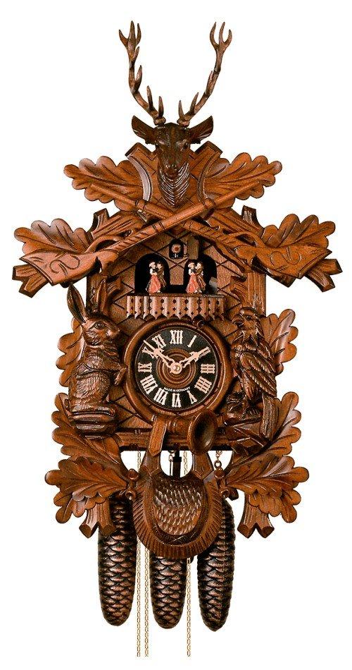カッコー時計 インテリア 壁掛け時計 海外モデル アメリカ 【送料無料】H?nes Cuckoo Clock Hunting Clock HO 8634/5Tnuカッコー時計 インテリア 壁掛け時計 海外モデル アメリカ