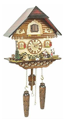 カッコー時計 インテリア 壁掛け時計 海外モデル アメリカ 【送料無料】Trenkle Quartz Cuckoo Clock Black Forest House TU 453 Q HZZGカッコー時計 インテリア 壁掛け時計 海外モデル アメリカ