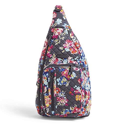 ヴェラブラッドリー ベラブラッドリー アメリカ フロリダ州マイアミ 日本未発売 【送料無料】Vera Bradley Signature Cotton Sling Backpack, Pretty Posiesヴェラブラッドリー ベラブラッドリー アメリカ フロリダ州マイアミ 日本未発売