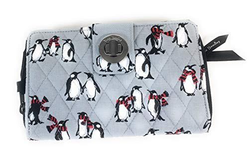 ヴェラブラッドリー ベラブラッドリー アメリカ フロリダ州マイアミ 日本未発売 【送料無料】Vera Bradley RFID Turnlock Wallet Playful Penguins Grayヴェラブラッドリー ベラブラッドリー アメリカ フロリダ州マイアミ 日本未発売