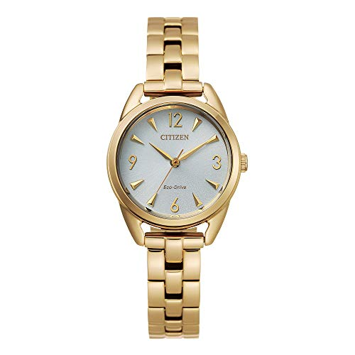 シチズン 逆輸入 海外モデル 海外限定 アメリカ直輸入 【送料無料】Citizen Women's Drive Quartz Stainless Steel Strap, Gold, 11 Casual Watch (Model: EM0682-74A)シチズン 逆輸入 海外モデル 海外限定 アメリカ直輸入